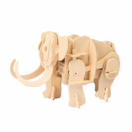 Wooden robotic Mammoth