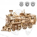 3D Wooden Mechanical Locomotive