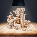 3D Wooden Marble Run Tower Climber