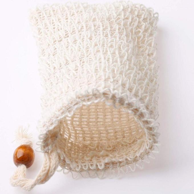 Hemp Soap Saver Bag