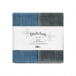 Natural Dish Cloth, Cotton and Rayon (Pack of 2)