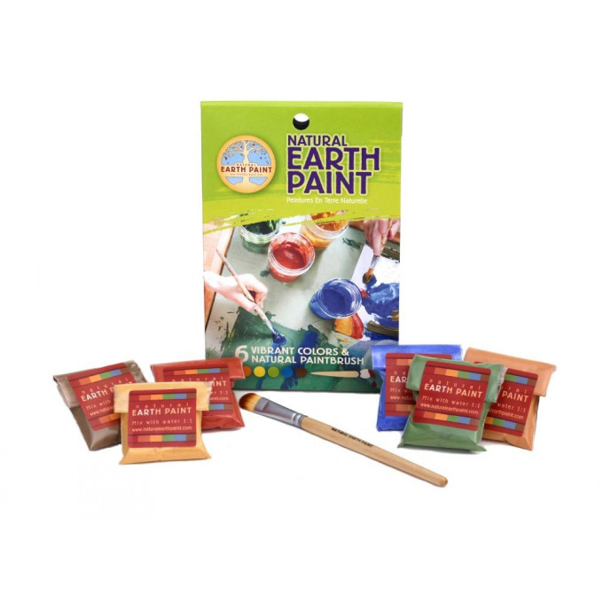 Childrens Earth Paint Kit, Petite