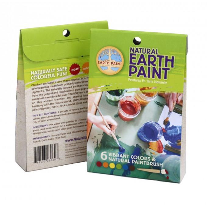 Childrens Earth Paint Kit, Petite