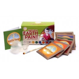Childrens Earth Paint Kit