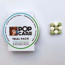 Tooth Tabs and Mouth Wash, Trial Pack
