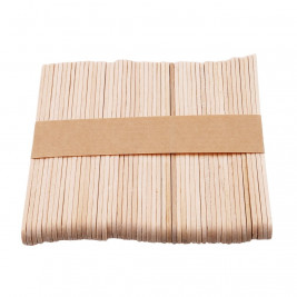 Natural Wooden Popsicle Sticks, 50Pcs/Set