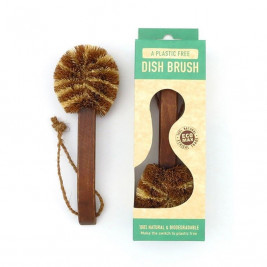 Dish Brush, Coconut Fibre (wooden handle)