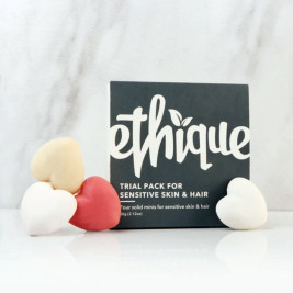 Ethique Trial Pack for Sensitive Skin and Hair