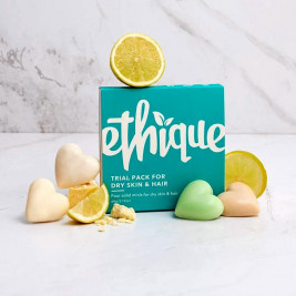 Ethique Trial Pack for Dry Skin and Hair