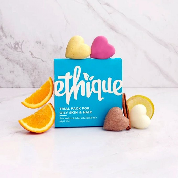 Ethique Trial Pack for Oily Skin and Hair