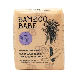 Organic Bamboo Pads, Night