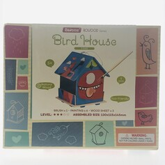 Wooden DIY Bird House