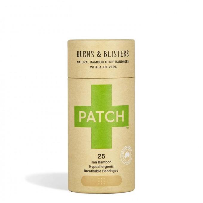 Bamboo plasters/band-aids, Aloe Vera, Tube of 25