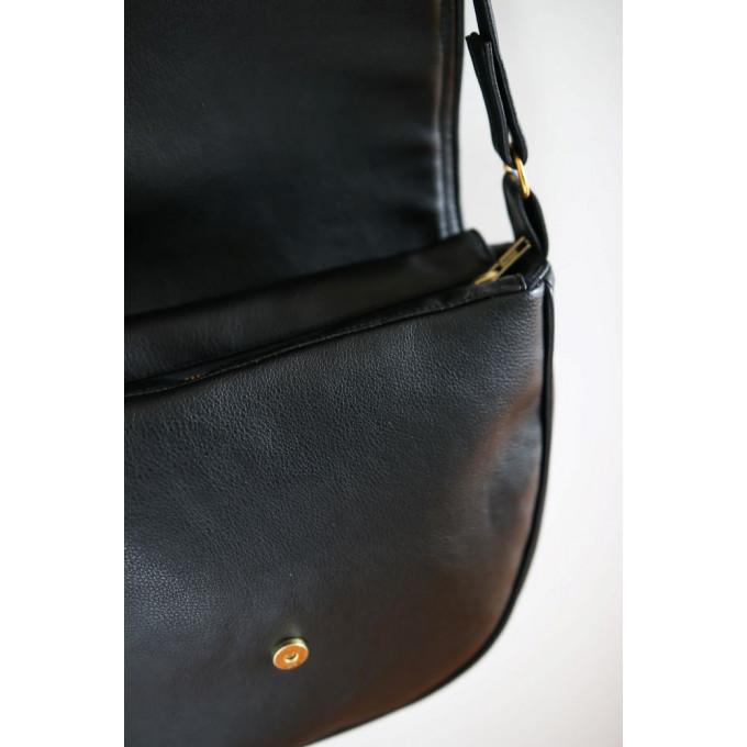 Cactus Leather Saddle Bag, Alia