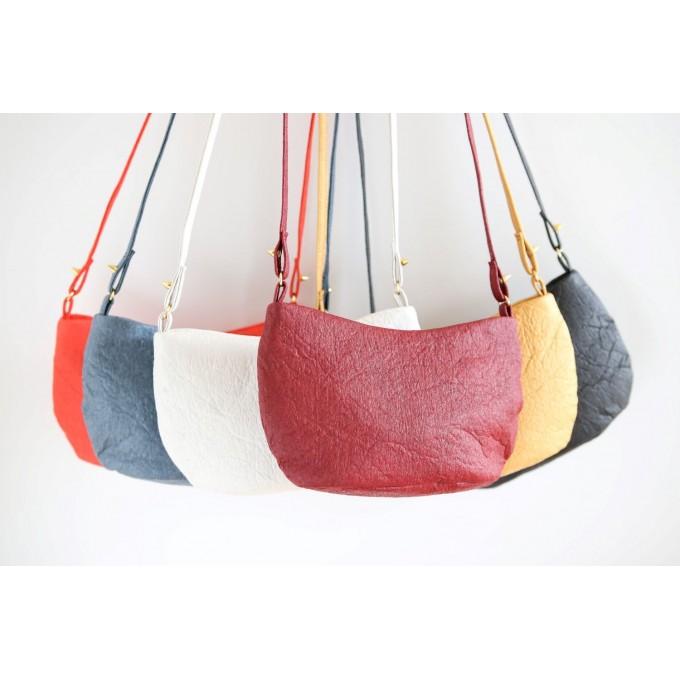 Pinatex Crossbody Bag, Liv