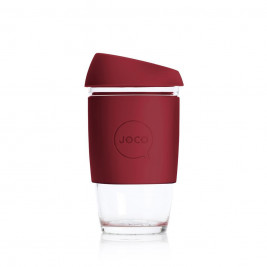 Reusable Glass Coffee Cup, 6oz