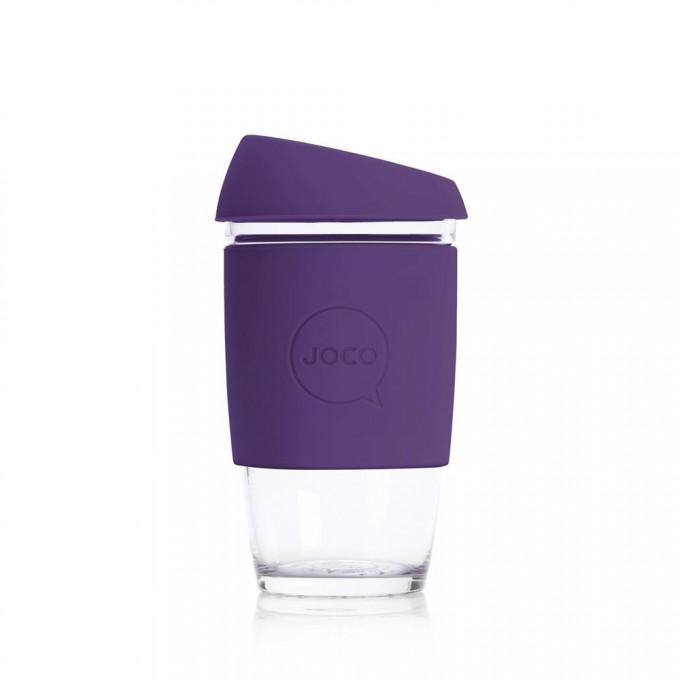 Reusable Glass Coffee Cup, 6oz