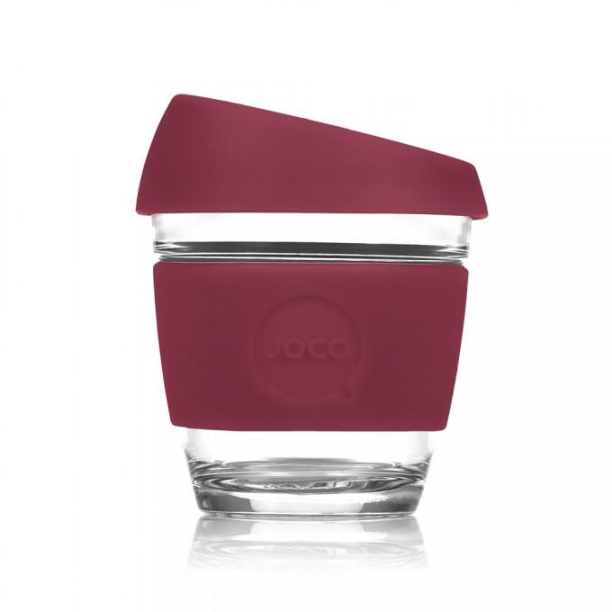 Reusable Glass Coffee Cup, 8oz