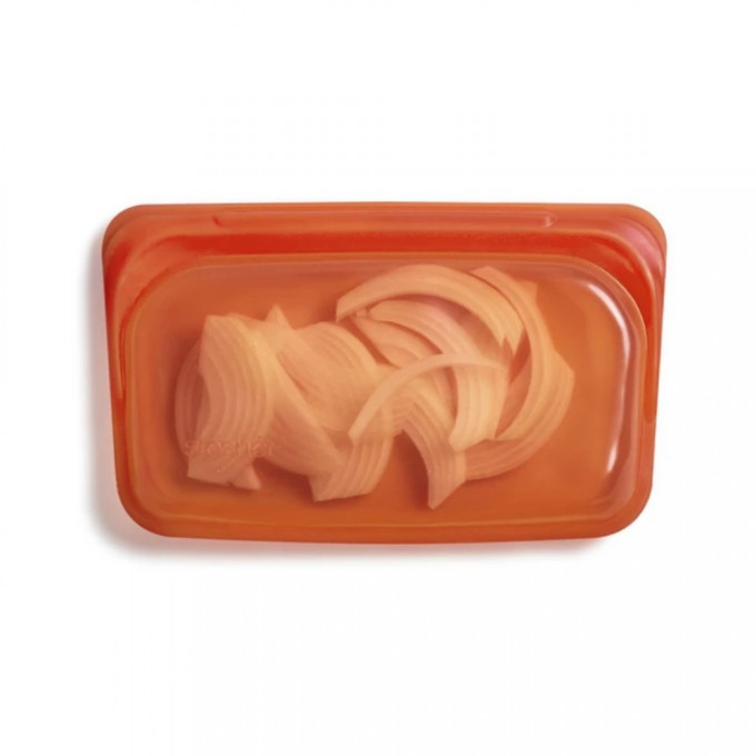 Reusable Silicone Food Storage Bag, Snack Size