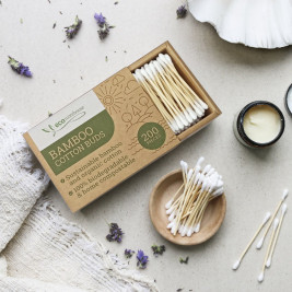 Bamboo Cotton buds, Box of 200