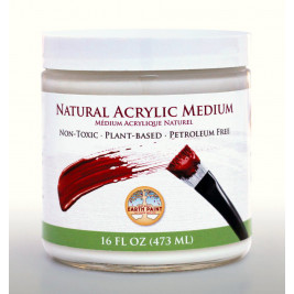Natural Acrylic Medium, 16oz (473ml)
