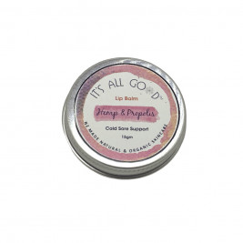 Lip Balm, Hemp and Propolis, Cold Sore Support