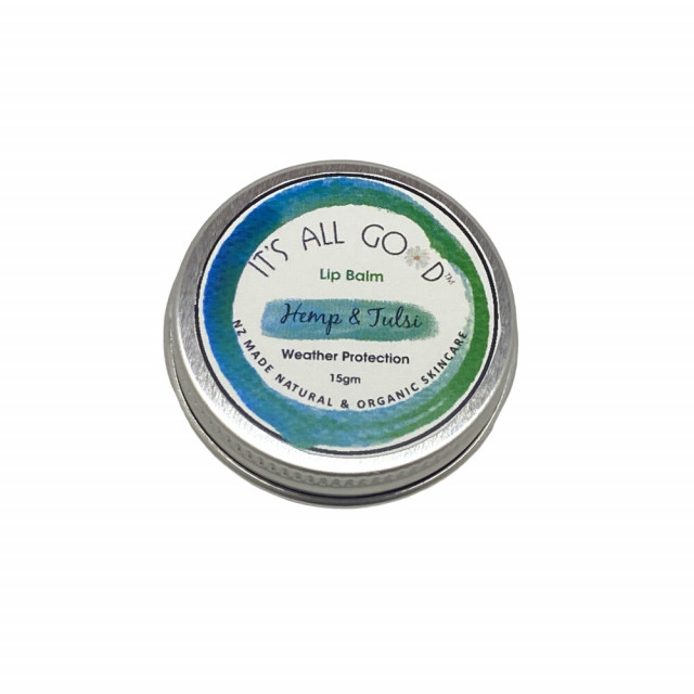 Lip Balm, Hemp and Tulsi, Weather Protection