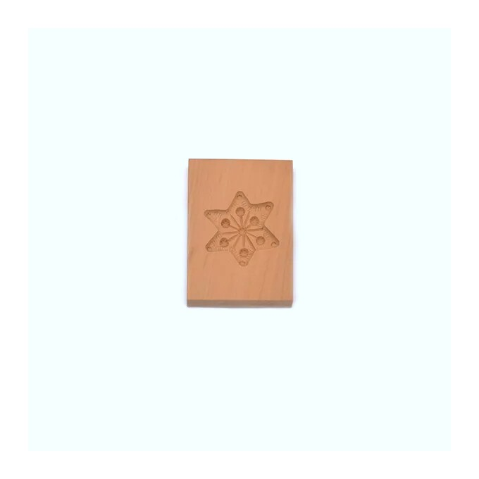 Pear Wood Biscuit Mould