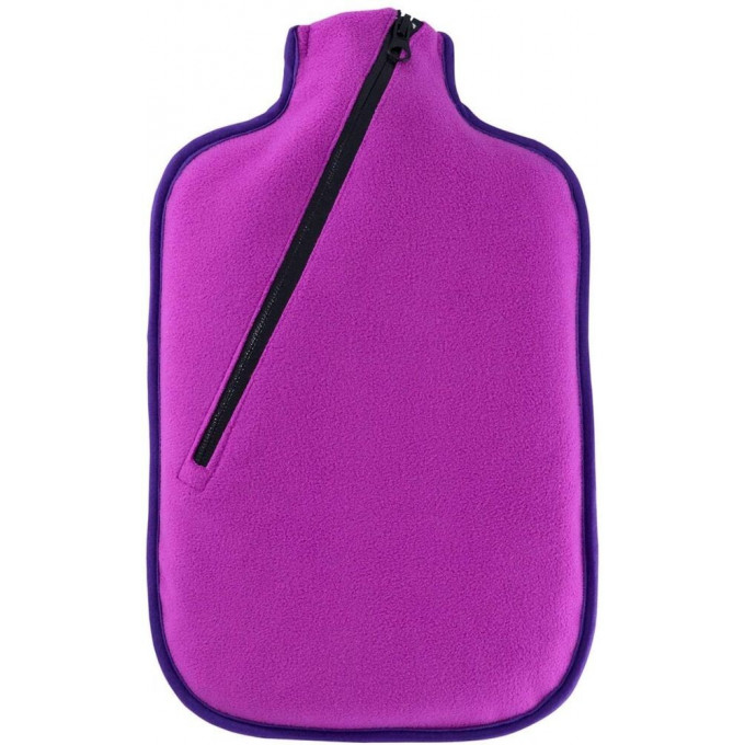 Eco Hot Water Bottle, 2L, with cover