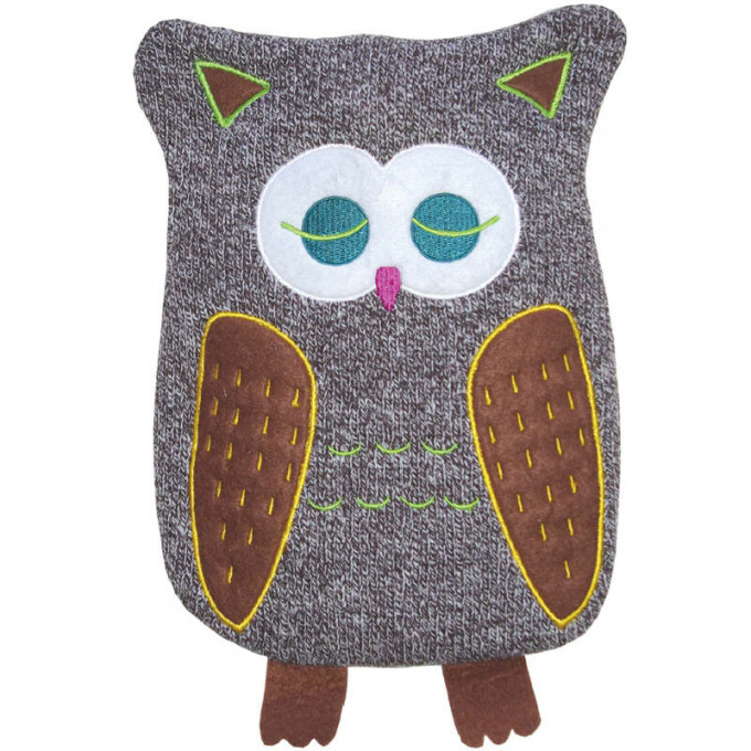 Eco Hot Water Bottle, Junior 0.8L, with cover