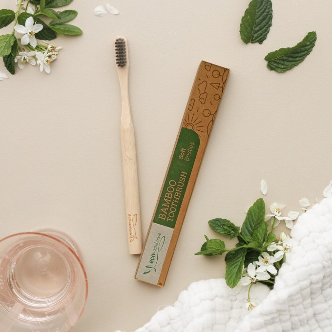 Bamboo Toothbrush, Soft Bristles