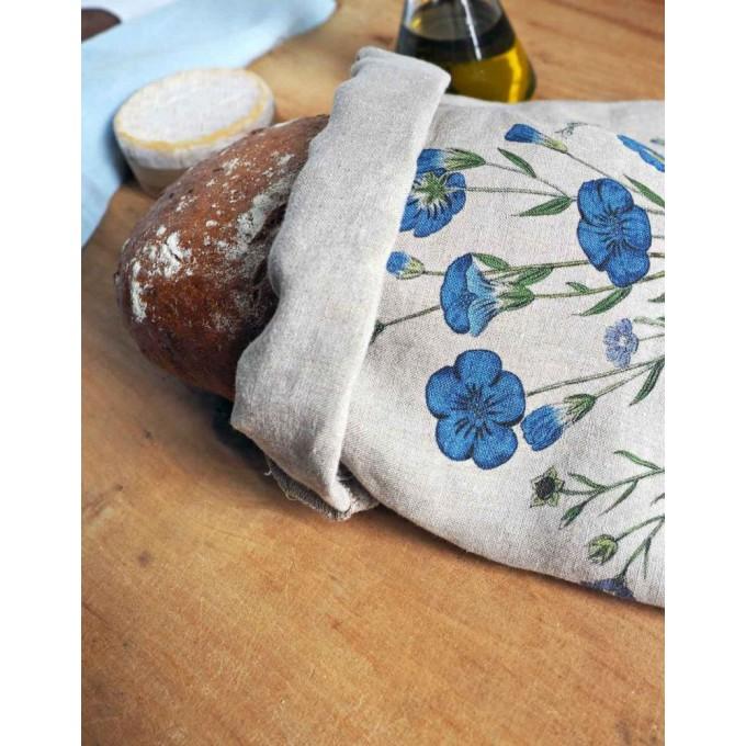 100% Linen Bread Bag