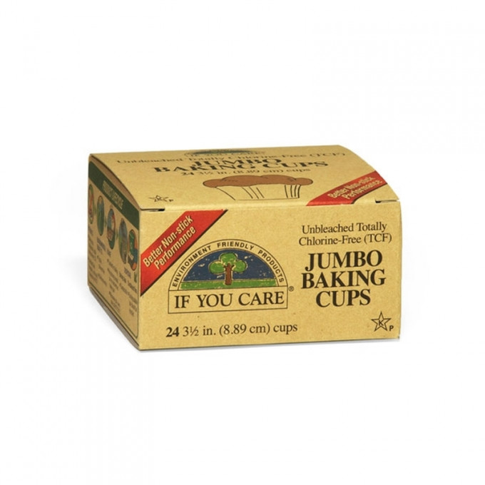 Compostable Baking Cups, Jumbo