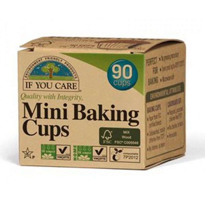 Compostable Baking Cups, Mini
