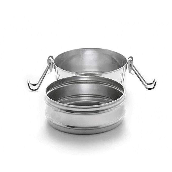 Stainless Steel Tiffin Lunchbox, Double layered