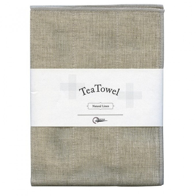 Natural Tea Towel, Cotton and Linen Blend