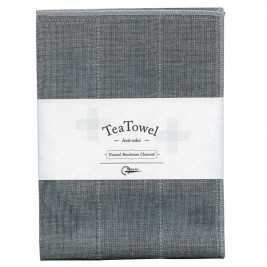 Natural Tea Towel, Binchotan Charcoal
