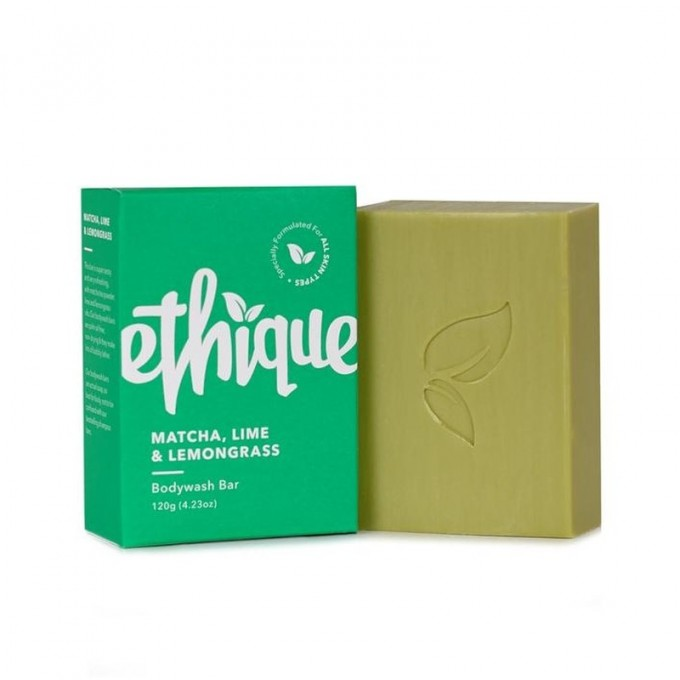 Ethique Matcha, Lime and Lemongrass Bodywash bar