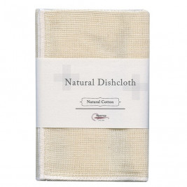Natural Dish Cloth, 100% Cotton