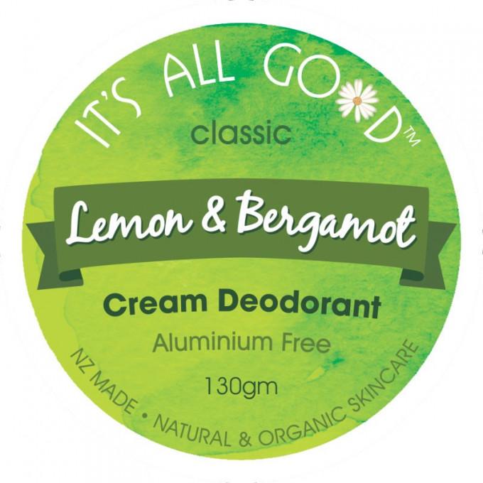 Natural Cream Deodorant