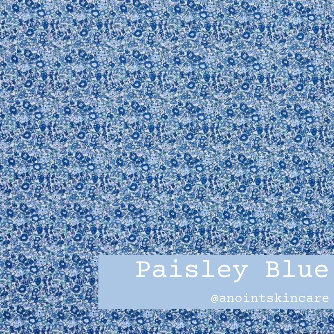 Paisely Blue